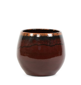 Dekocandle Bloempot Terracotta Bordeaux XL