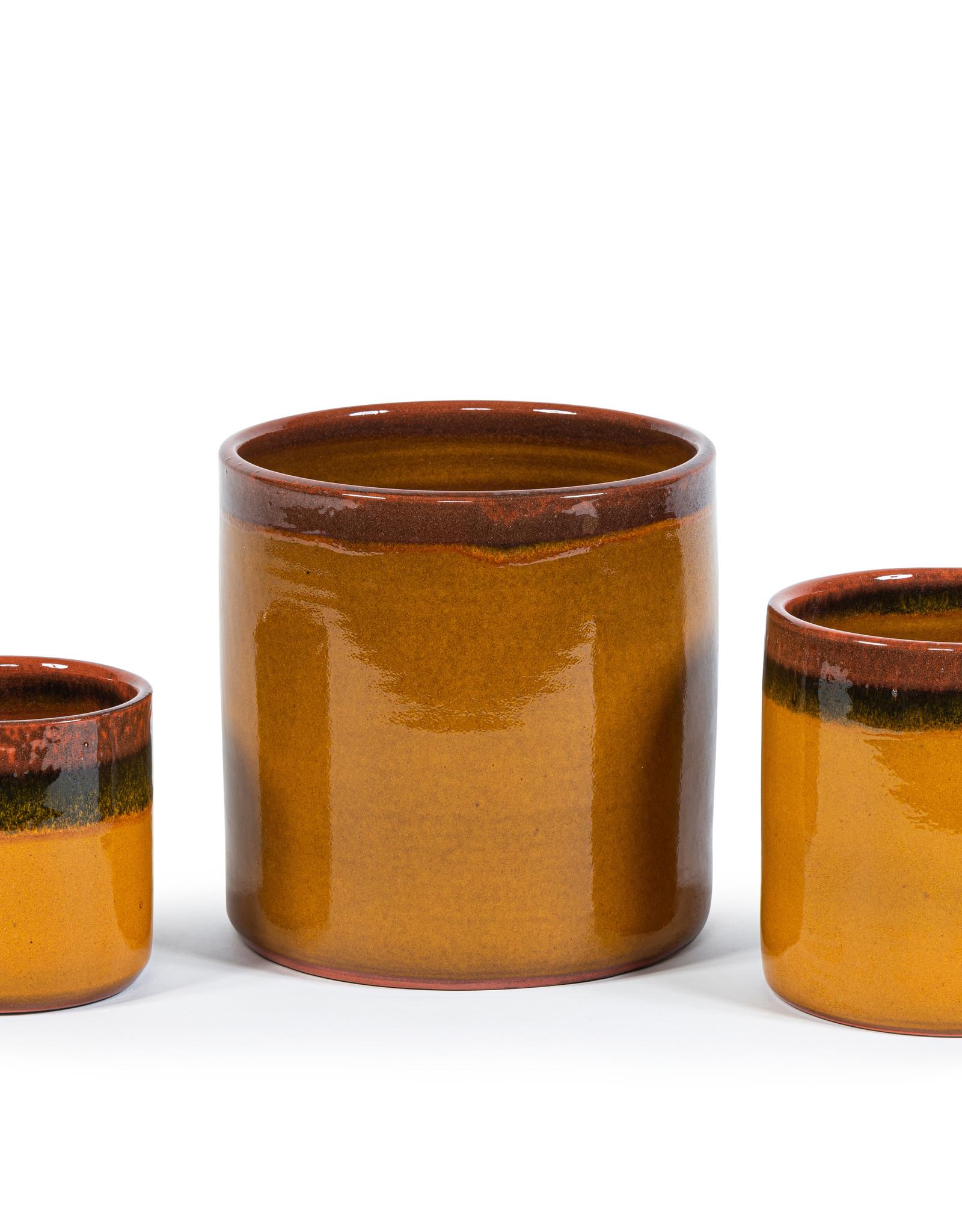 Dekocandle Bloempot Terracotta Oker Medium