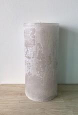 Dekocandle Kaars Cylinder Linen 7 x 15