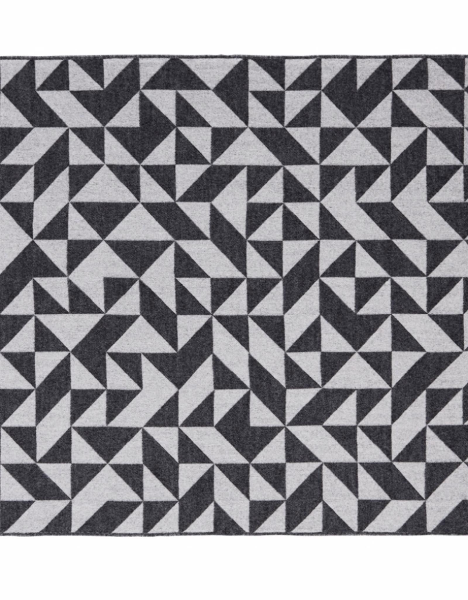 Silkeborg Plaid Twist a Twill Dark Grey