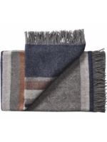 Silkeborg Plaid Lyo Grey Navy
