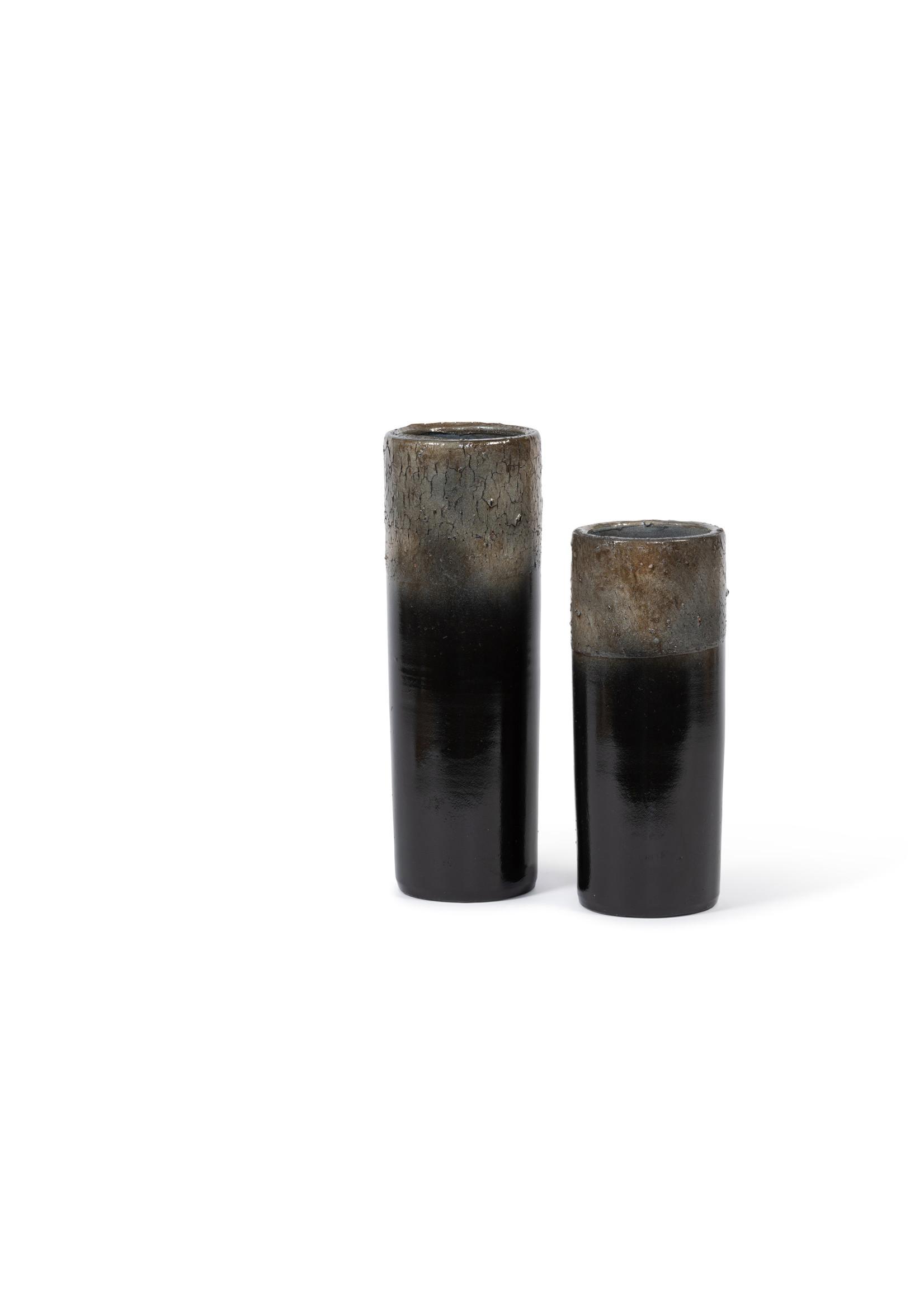 Dekocandle Vaas Terracotta Zwart Small