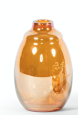 Dekocandle Vaasje Amber luster large