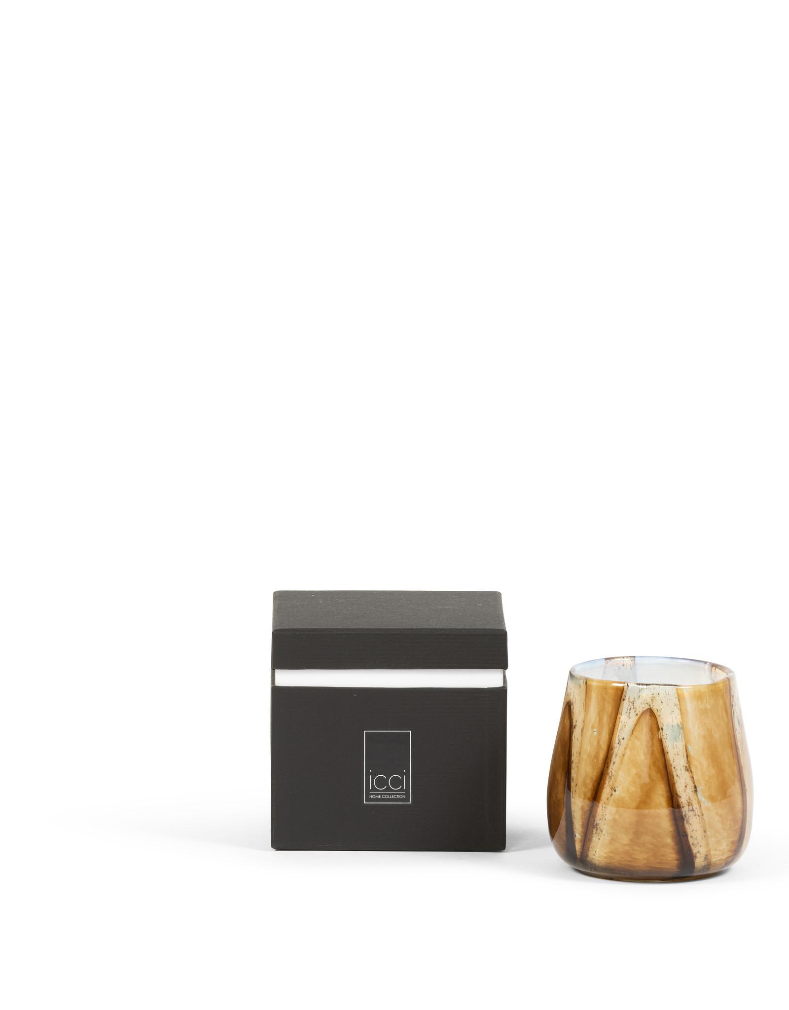Dekocandle Geurkaars Gevlamd Glas Orient Large