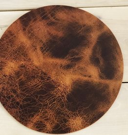 "Leather Be Placemat Rond ""Vintage"""