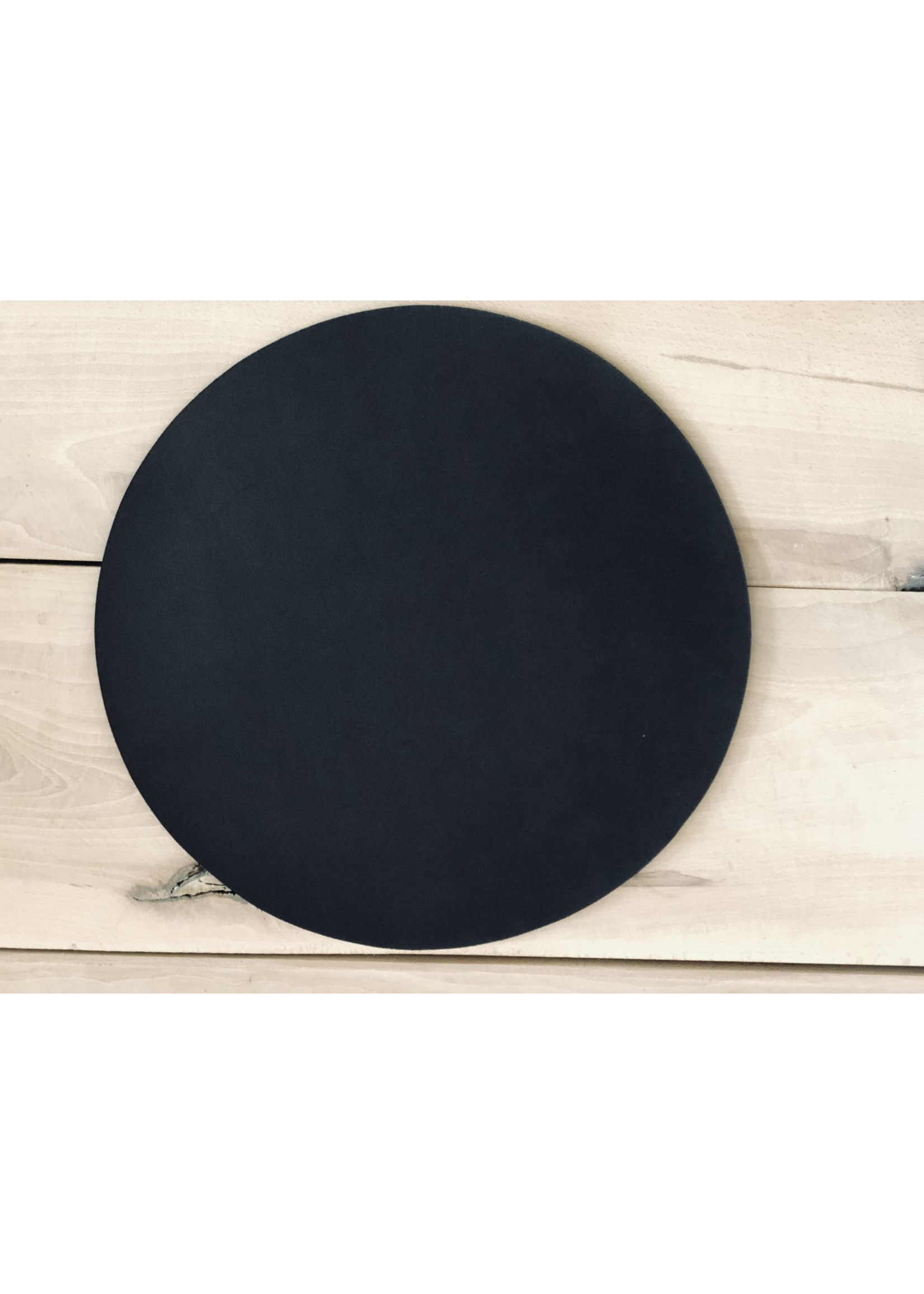 "Leather Be Placemat Rond ""Recycled leather"""