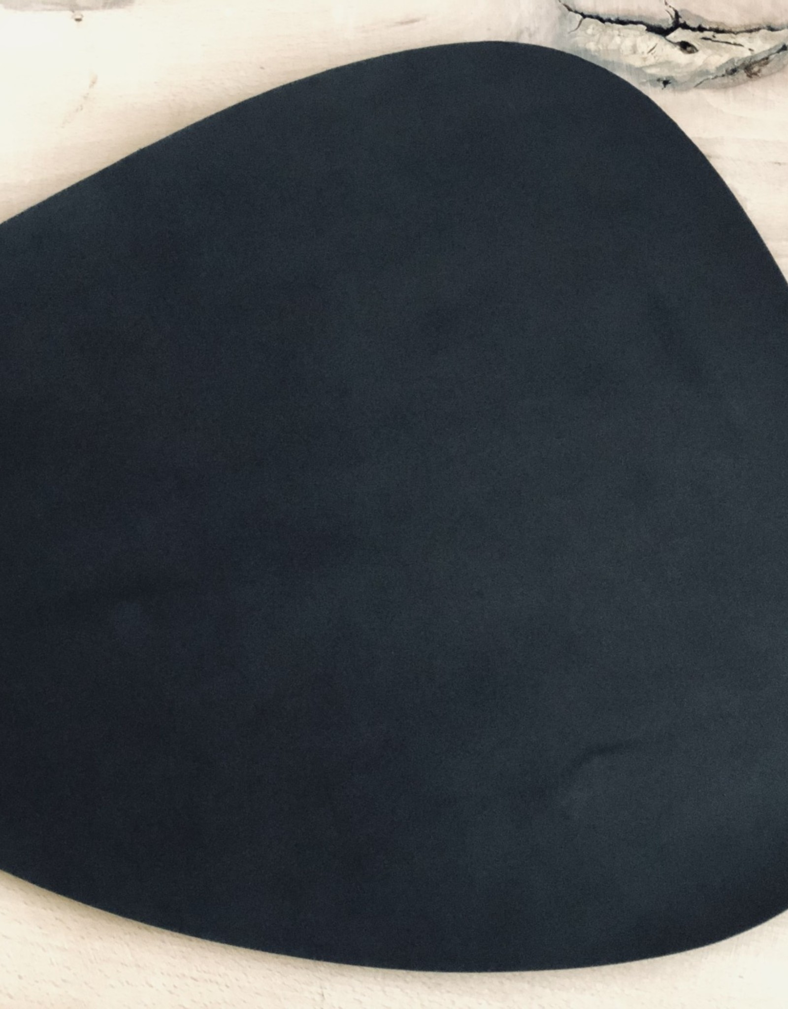 "Leather Be Placemat Druppel ""Recycled bonded Leather"""
