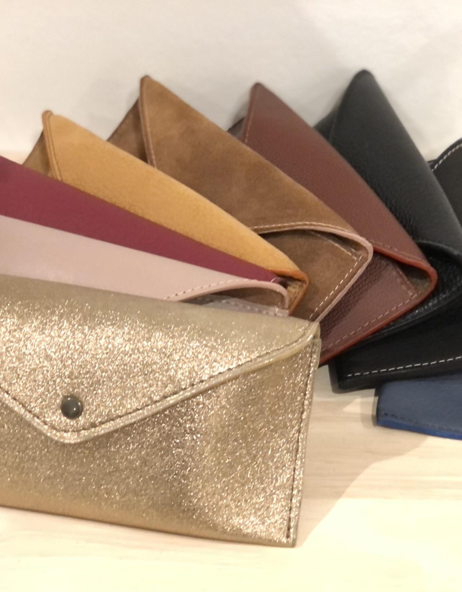 Leather Be Brillen Etui