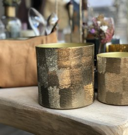 Dekocandle Geurkaars Gold Metal Savanne Small