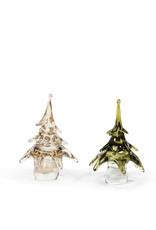 Dekocandle Kerstboom Mondgeblazen Wit Large