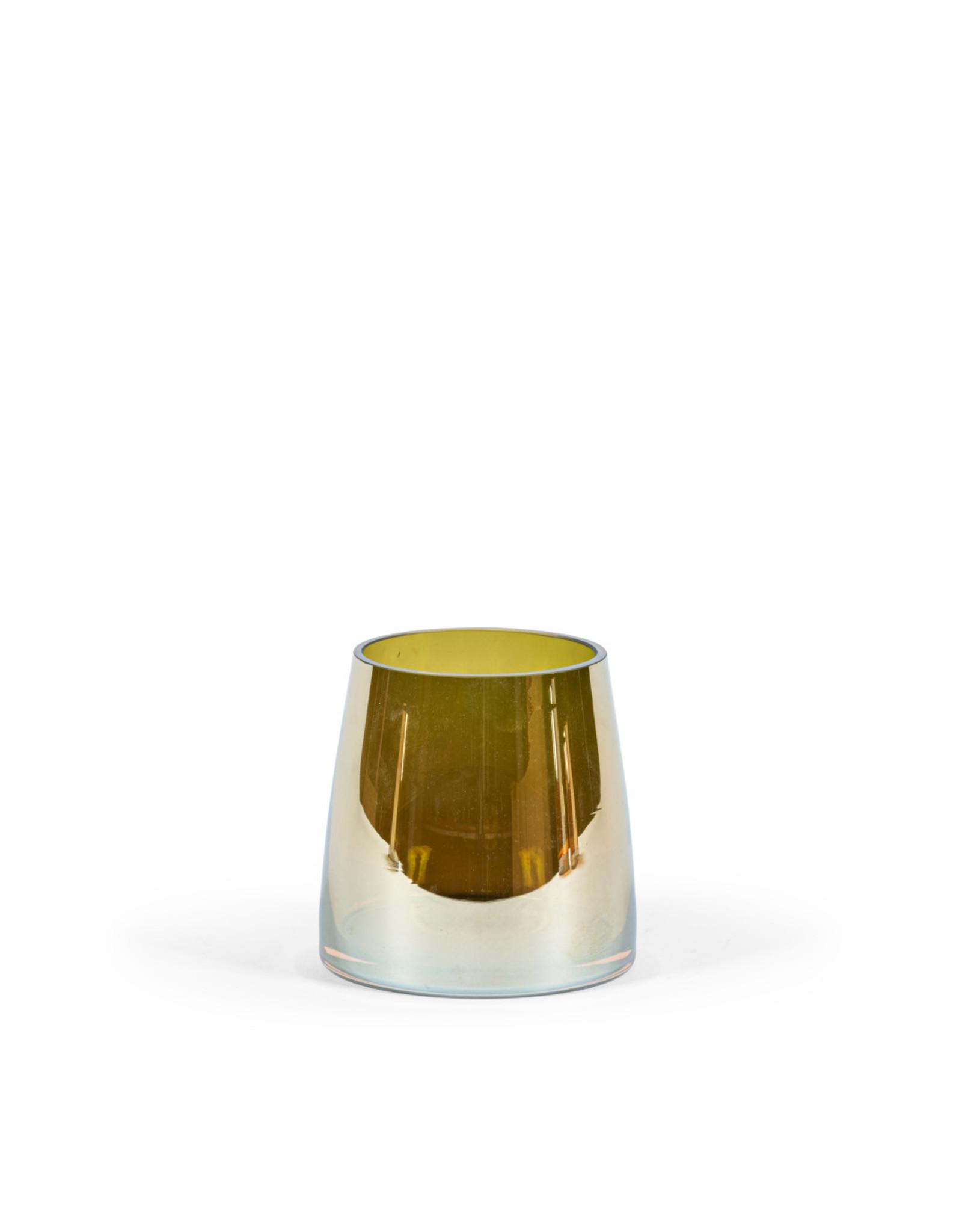 Dekocandle Theelicht Olive luster Small