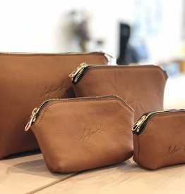 Leather Be Pocket Pouch Cognac
