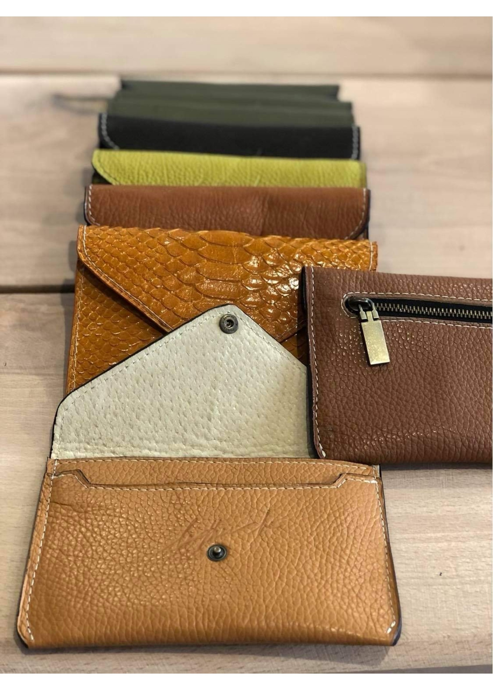 Leather Be Leather Be Lady  Wallet ZIpper