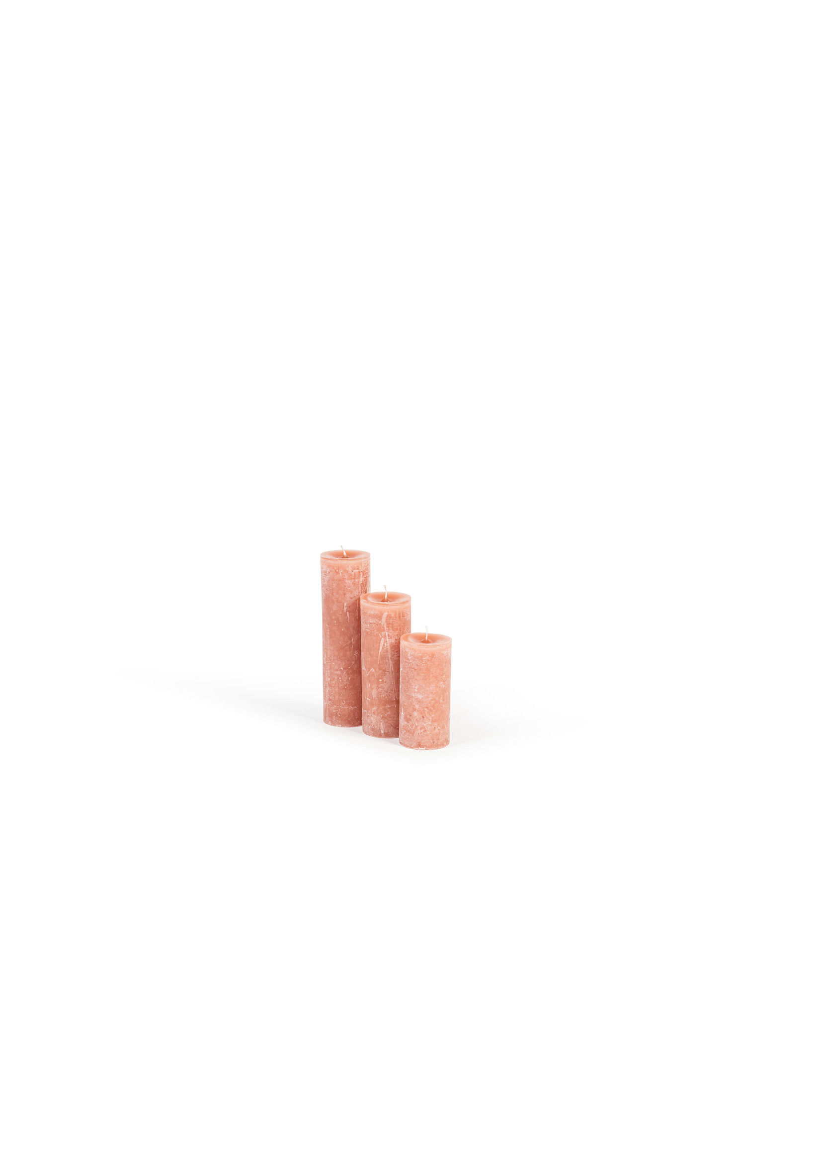 Dekocandle Kaars Cylinder 7 x 10cm Brique