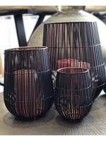 Dekocandle Windlicht Metal Black & Copper Small