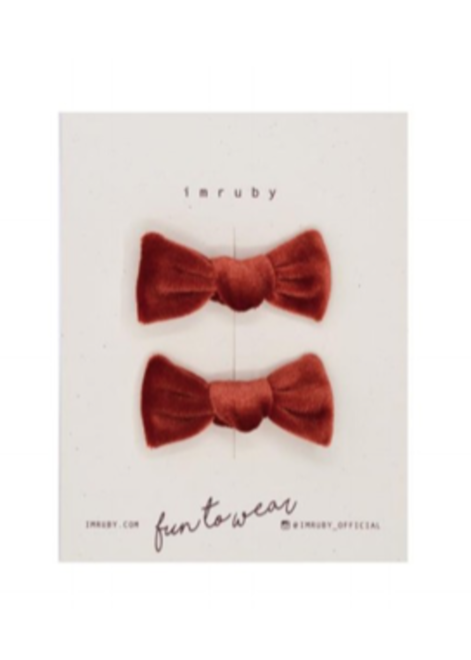 IM RUBY IMRUBY Louelle Candy Bows set v2