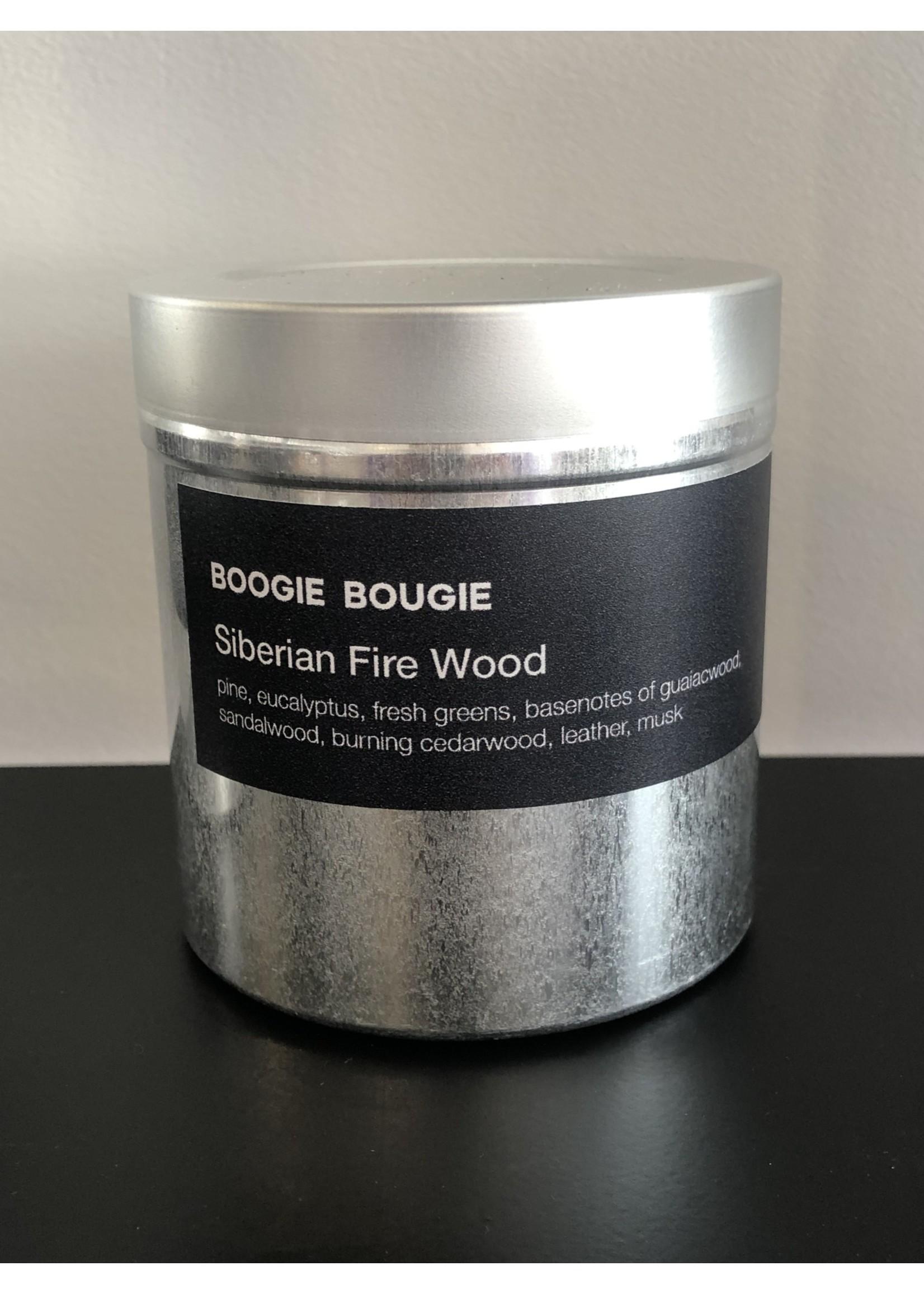 BOOGIE BOUGIE Boogie Bougie Geurkaars Siberian Fire Wood