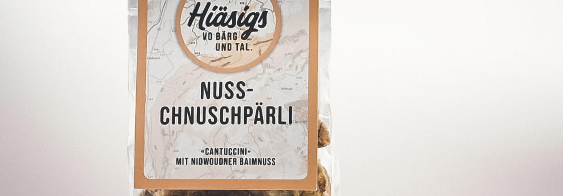Nuss-Chnuschpärli «Knack mich»