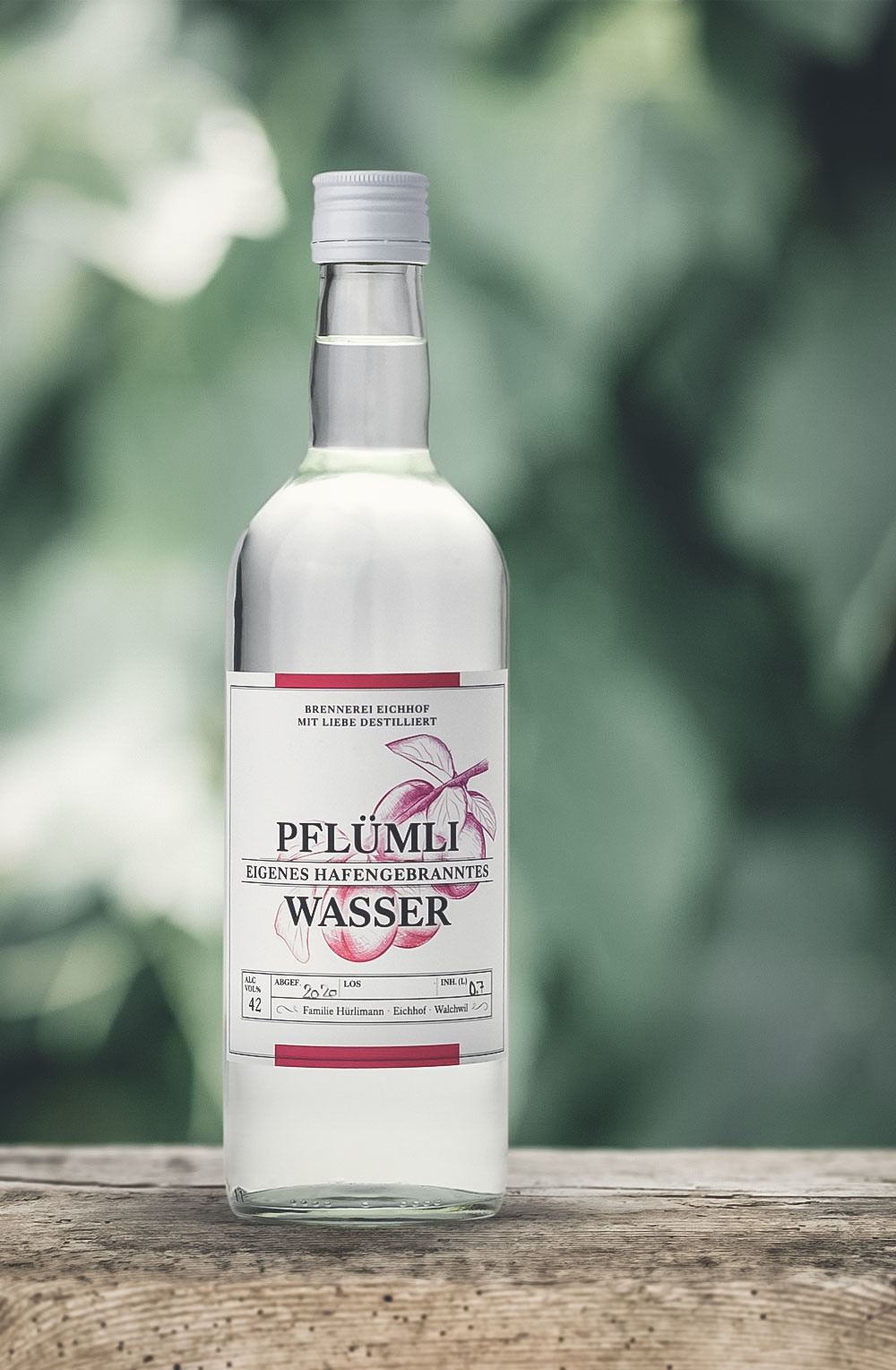 Pflümli Wasser 70cl-1