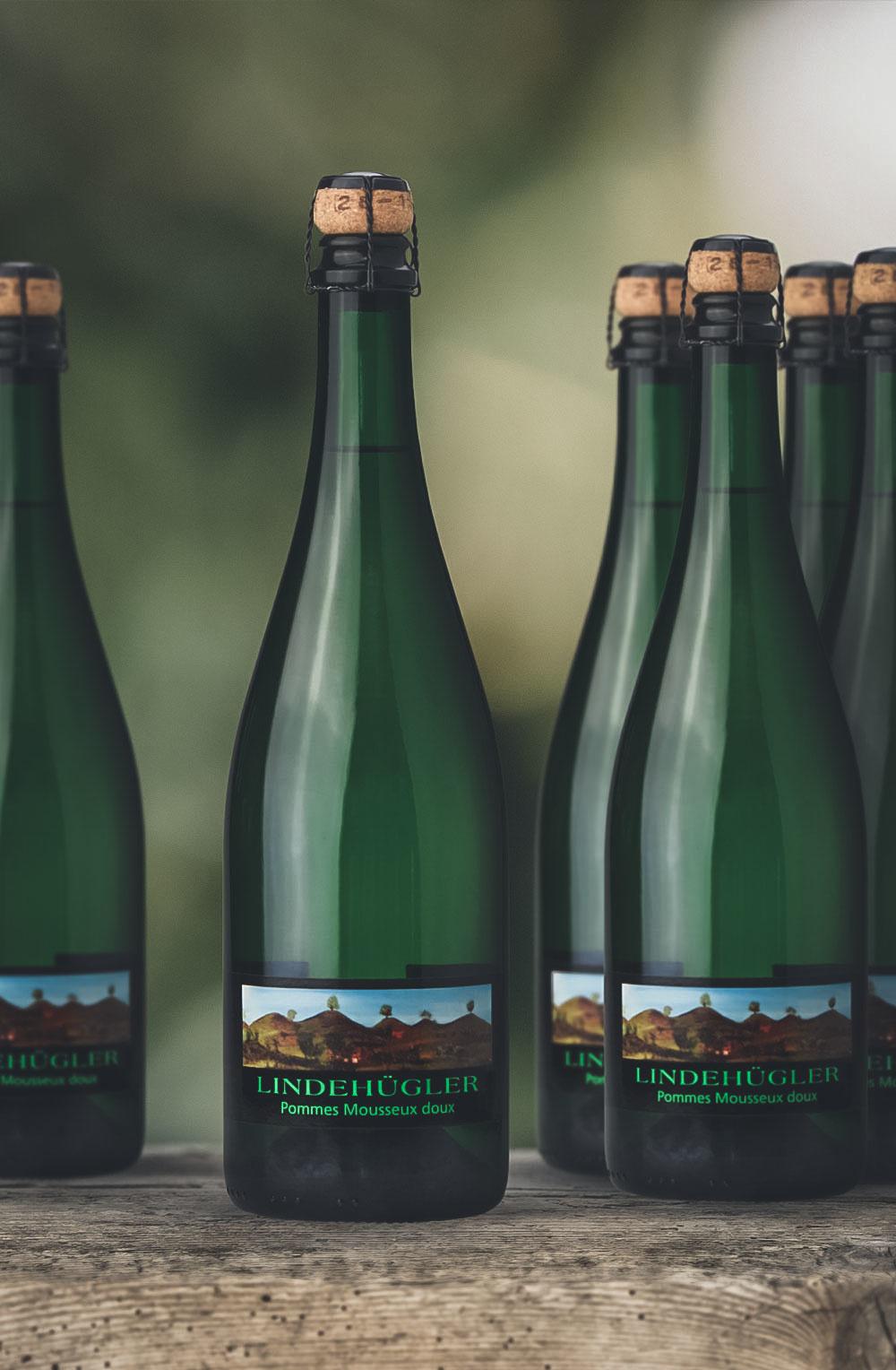 Lindenhügler Pommes Mousseux doux 6 Flaschen-1