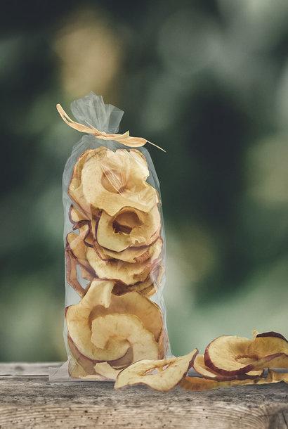 Gedörrte Apfelringe