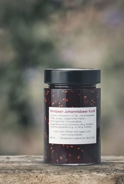 Himbeer-Johannisbeer Konfitüre
