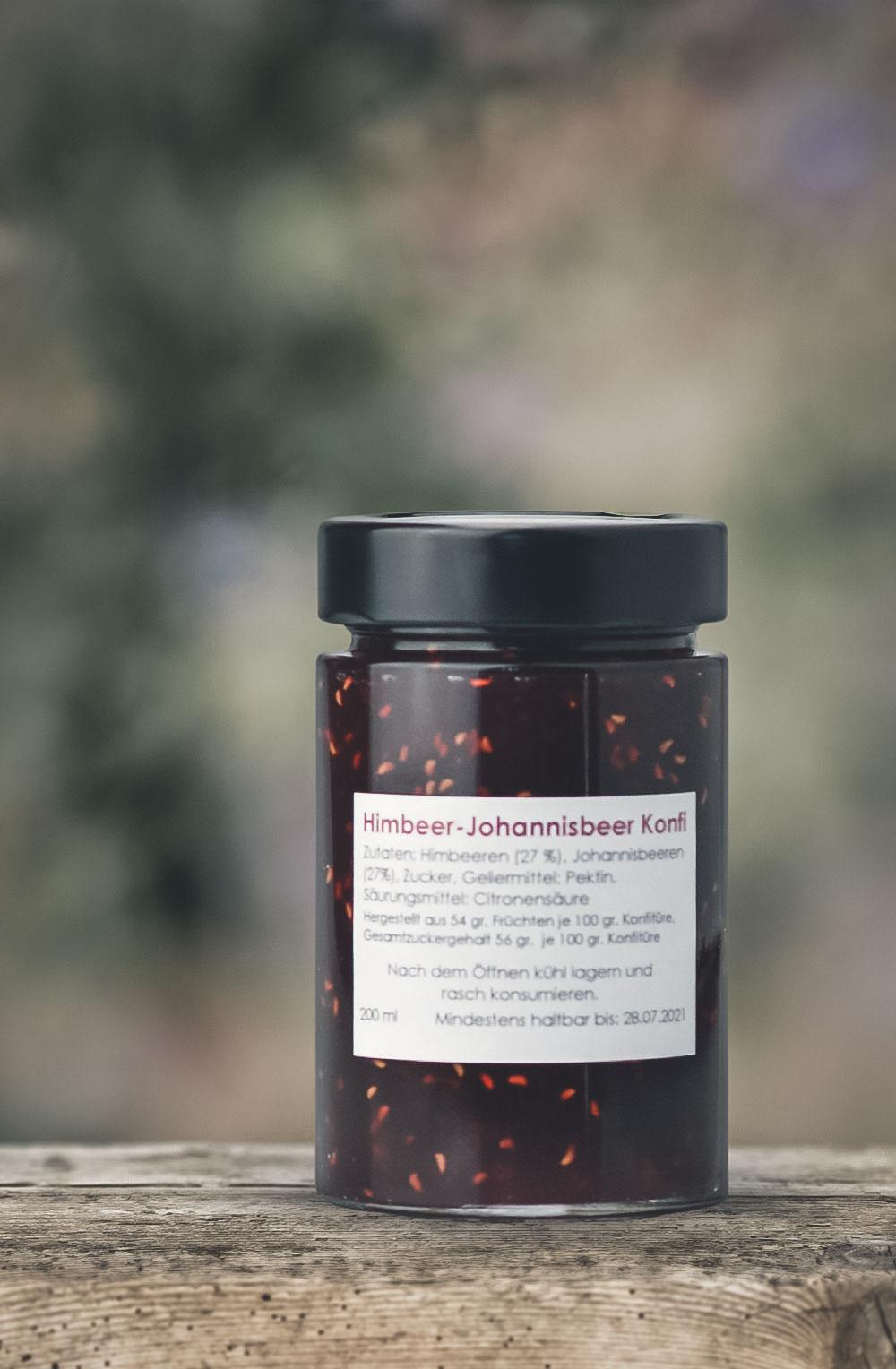 Himbeer-Johannisbeer Konfitüre-1