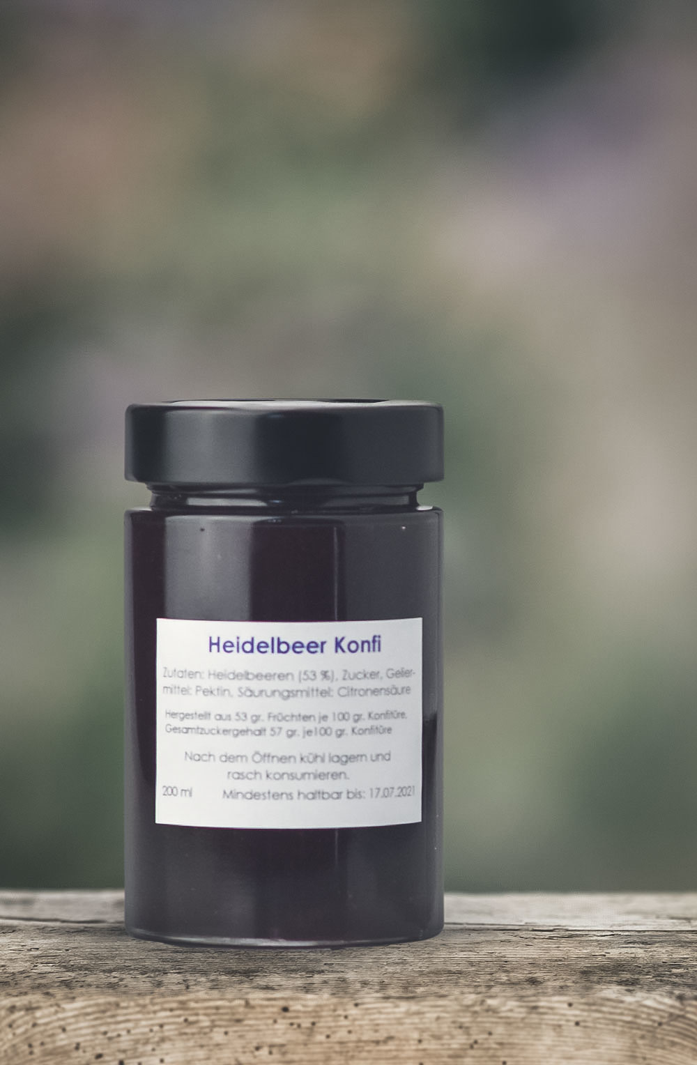 Heidelbeer Konfitüre-1