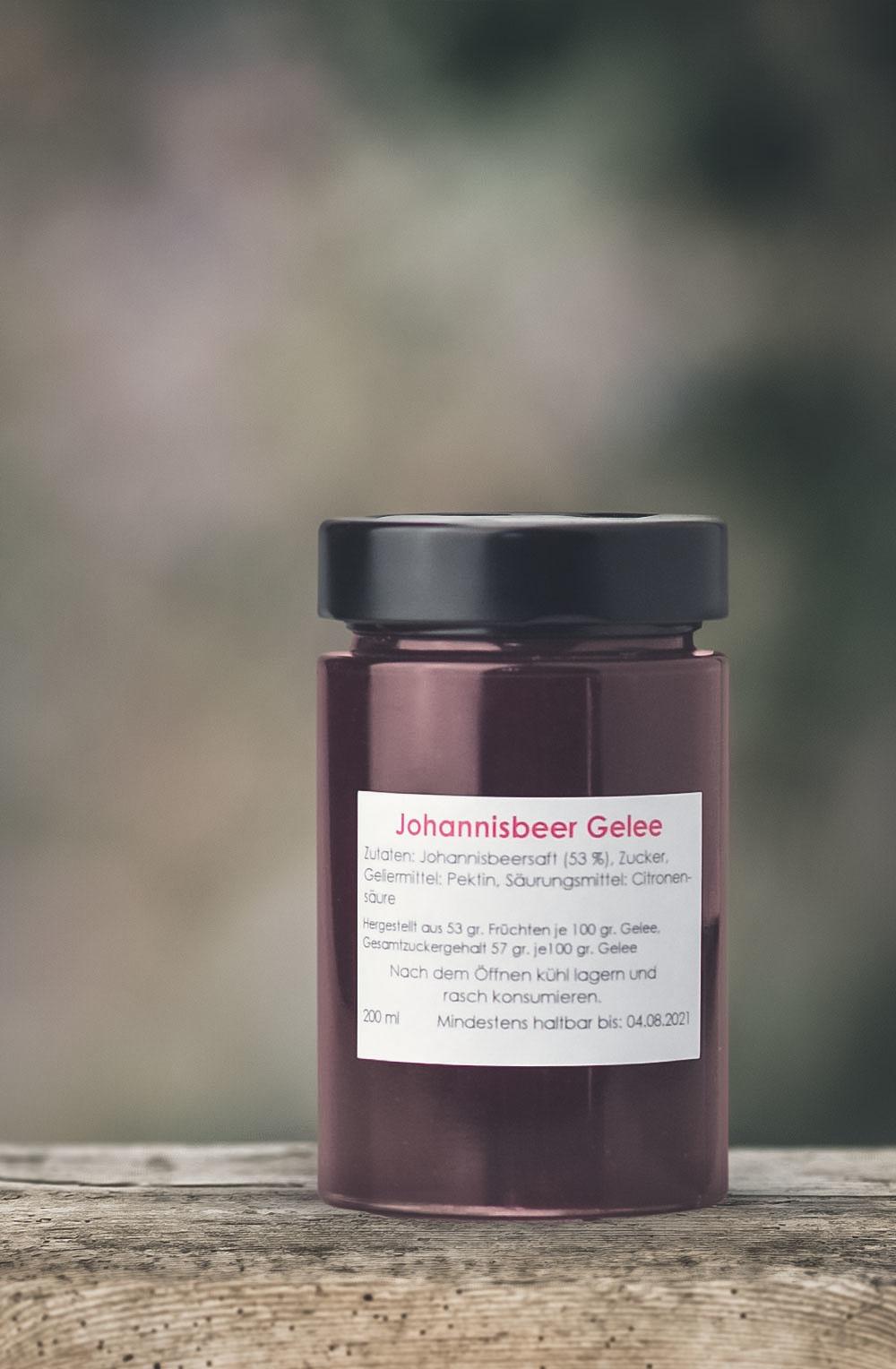 Johannisbeer Gelee-1