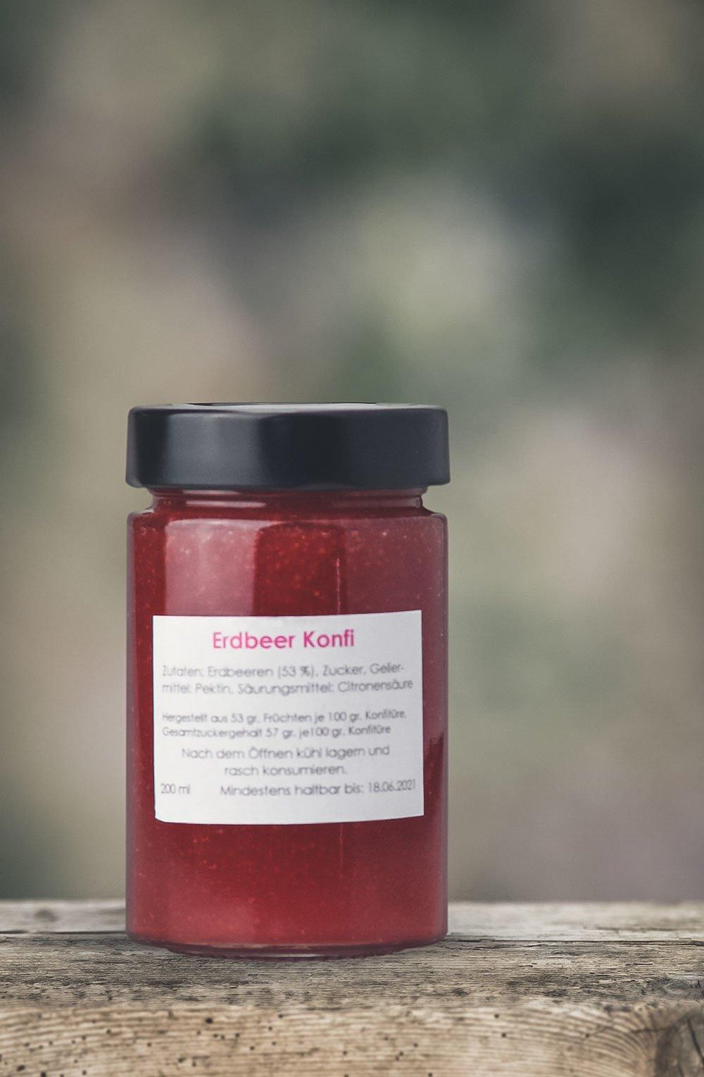 Erdbeer Konfitüre-1