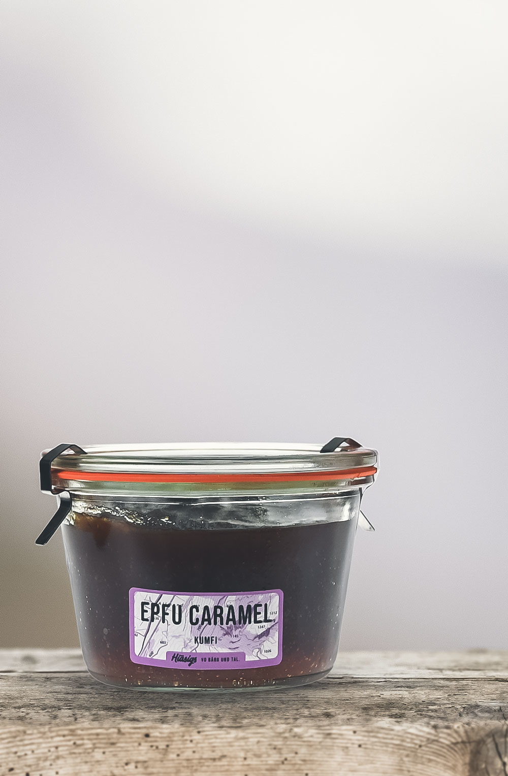 Epfu Caramel Kumfi «Ussergwehnlichä Gspanä»-1