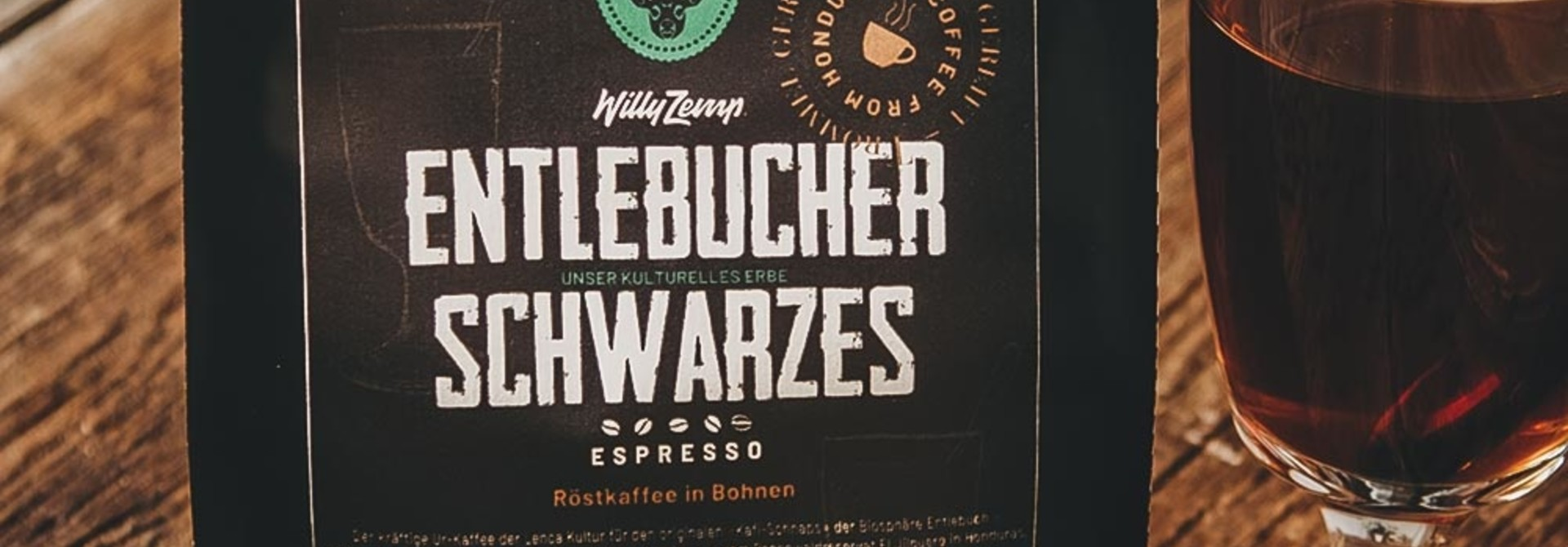 Entlebucher Schwarzes - Espresso Honduras