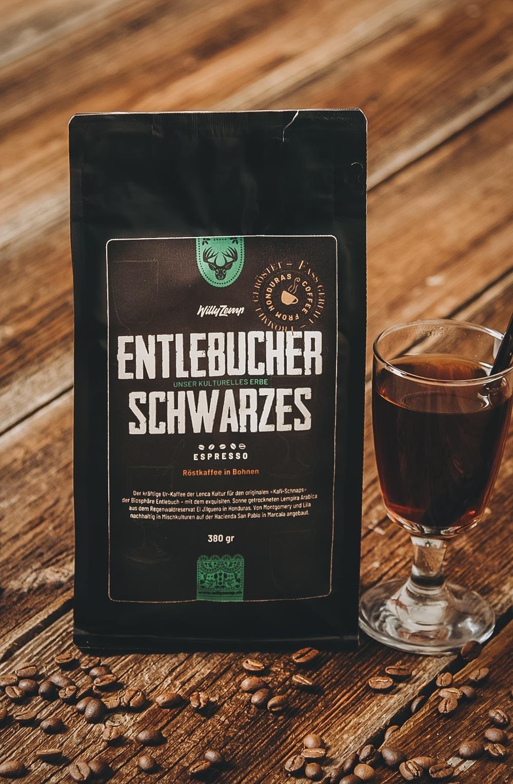 Entlebucher Schwarzes - Espresso Honduras-1