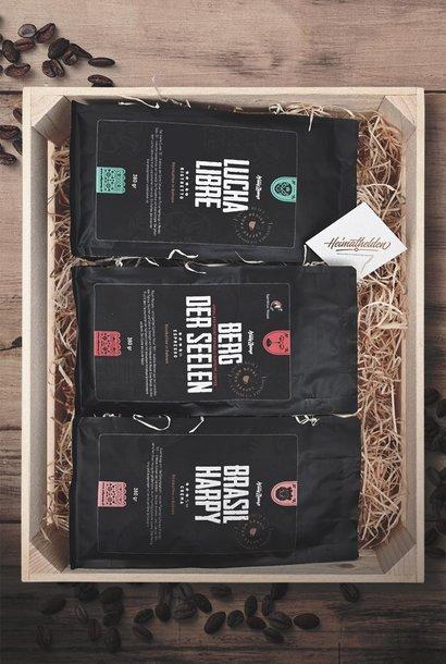 Grosse Geschenkbox «Ristretto, Espresso & Crema»