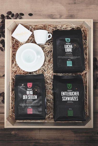 Geschenkbox «Der perfekte Espresso»
