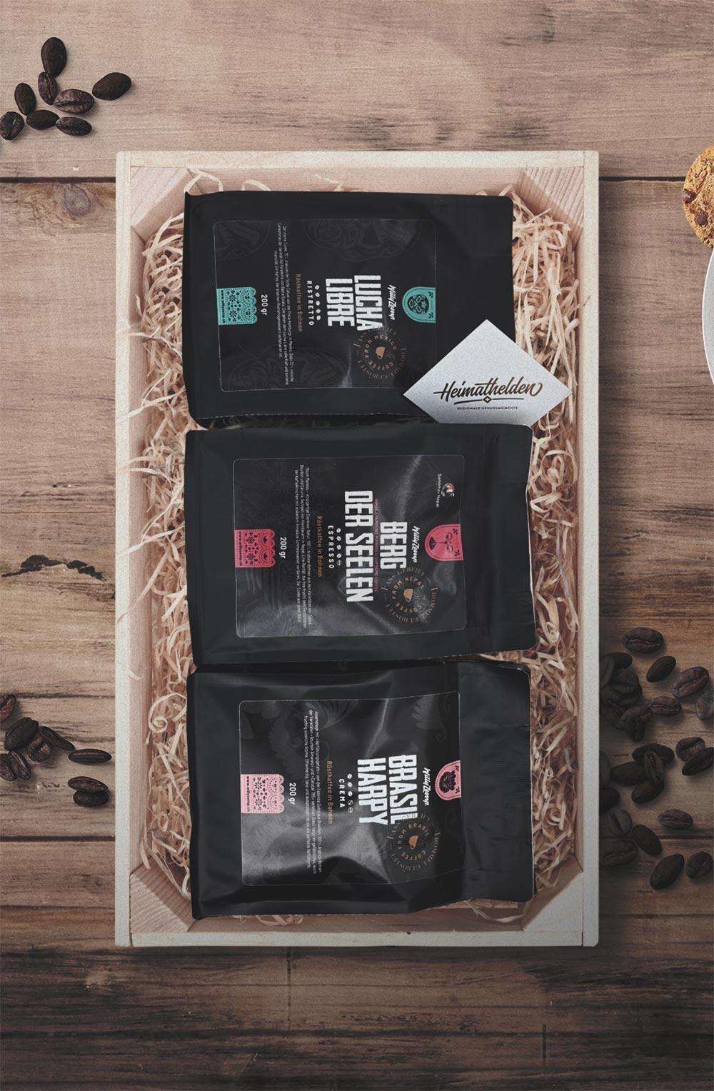 Geschenkbox «Ristretto, Espresso & Crema»-1