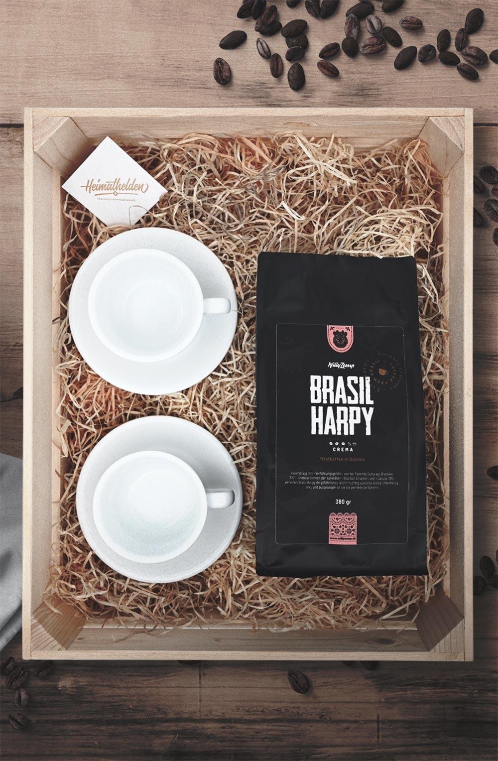 Geschenkbox «Brasil Harpy»-1