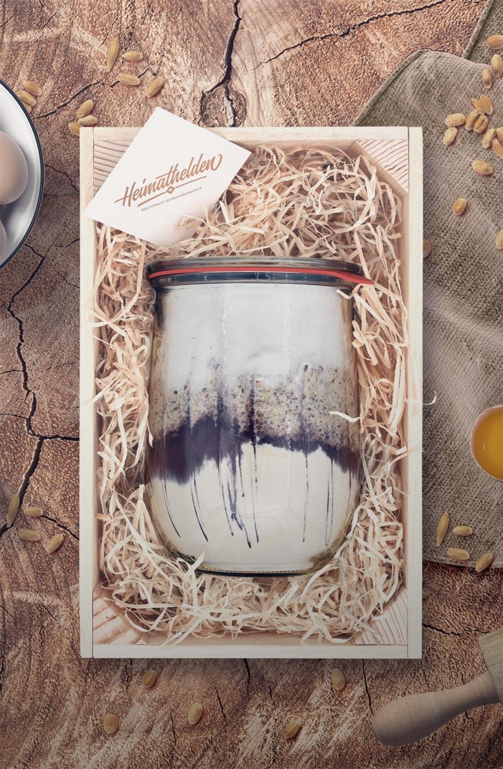 Geschenkkiste «Schoggi-Cake»-1