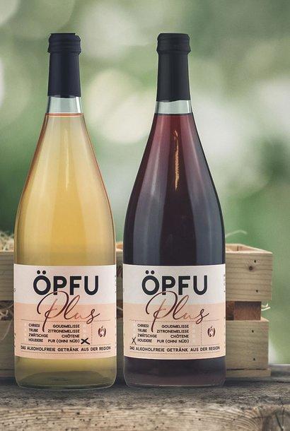 Öpfu Plus Geschenk «Pur & Houdere»