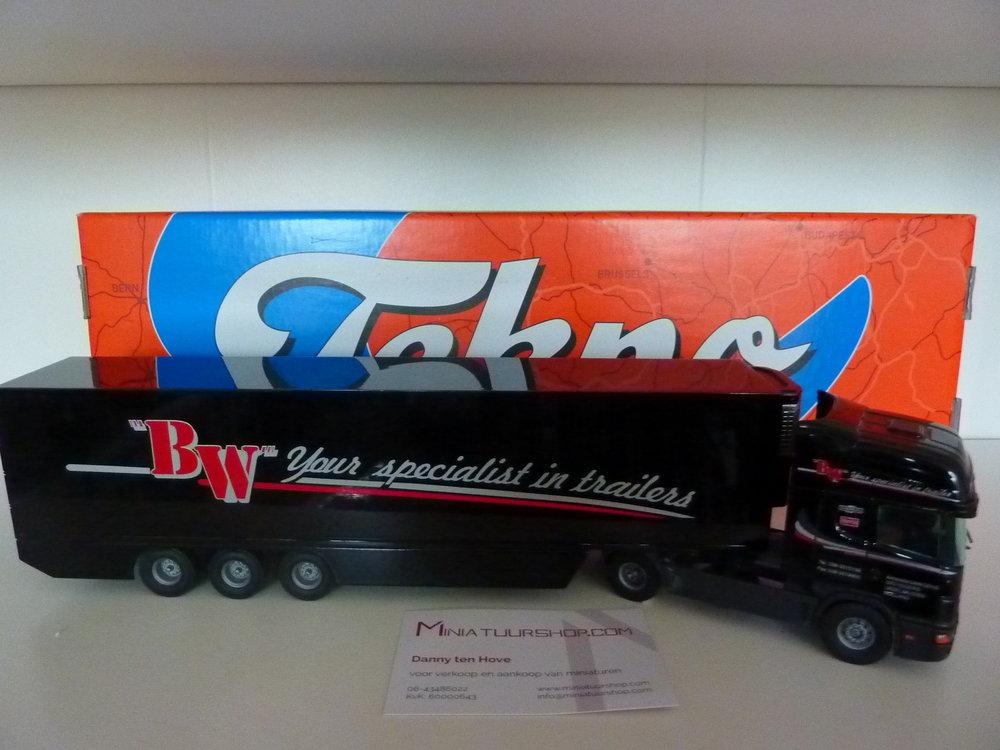Tekno Tekno Scania 124L/400 met koeloplegger B.Wezenberg