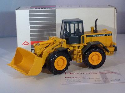 Conrad Modelle Conrad Furukawa 345 wheel loader