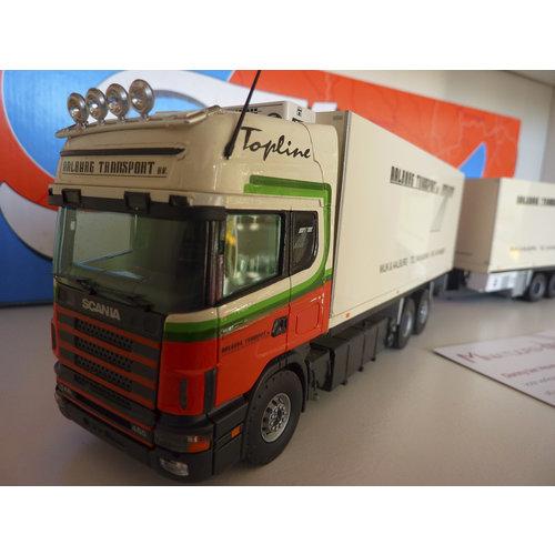 Tekno Tekno Scania 144L topline volume combi Aalburg transport Wijk&Aalburg