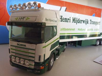Tekno Tekno Scania 144L met koeloplegger Henri Mijderwijk Zaltbommel
