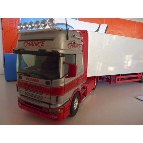 Tekno Tekno Scania 164L/480 with closed trailer Chance DuitsCountry