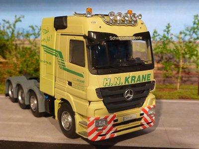 Tekno Tekno Mercedes Actros Megaspace single truck H.N. Krane