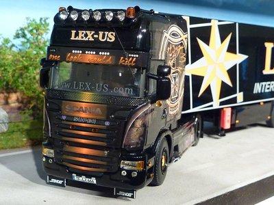 WSI WSI Scania R Topline met koeloplegger Lex-Us Germany