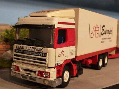 Tekno Code3/ Tekno DAF 95 combi Henk Klapwijk /Straver transport