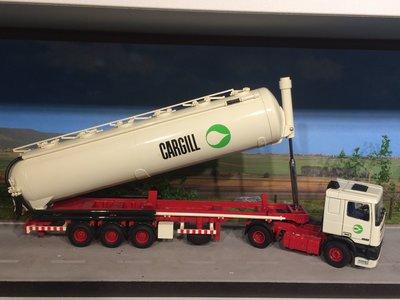Tekno Tekno DAF 95 met bulktankoplegger Cargill Amsterdam