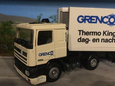Tekno Tekno DAF 95 GRENCO met koeloplegger