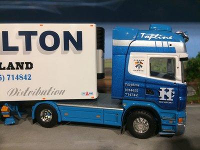 Tekno Tekno Scania R Topline met koeloplegger P&C Hamilton